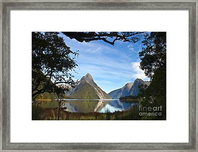 The Peak Framed Print by Roberto Bettacchi
