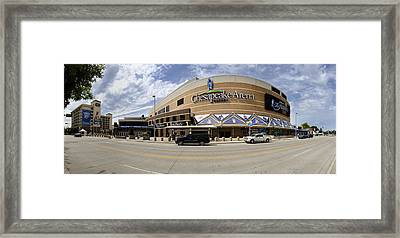 The Peake Panorama Framed Print by Ricky Barnard