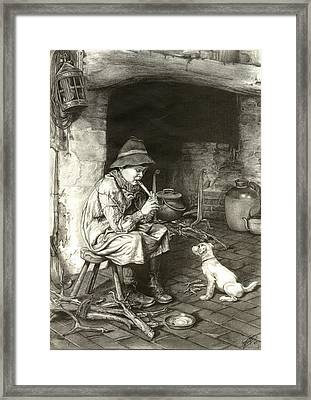 The Penny Whistle Framed Print by Ronald Osborne