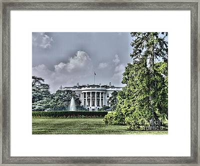 The People's House Framed Print by Arthur Herold Jr
