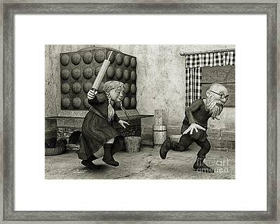 The Perfect Couple Framed Print by Jutta Maria Pusl