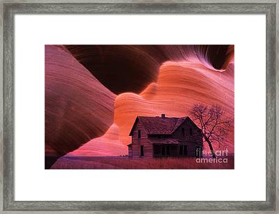 The Perfect Storm Framed Print by Bob Christopher