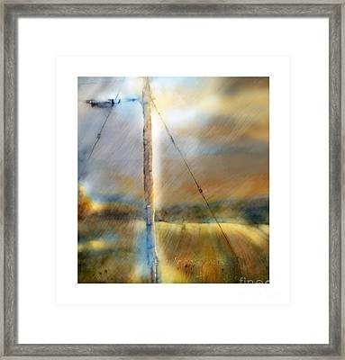 The Perfect Storm Framed Print by Bob Salo