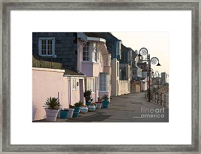 The Perl Of Dorset  Framed Print
