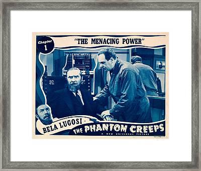 The Phantom Creeps, Chapter 1 The Framed Print by Everett