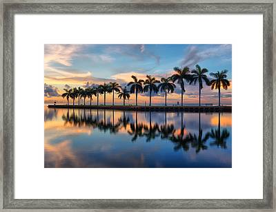 The Photographer Framed Print by Claudia Domenig