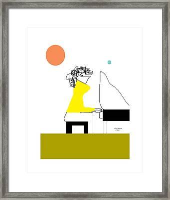 The Pianist Framed Print
