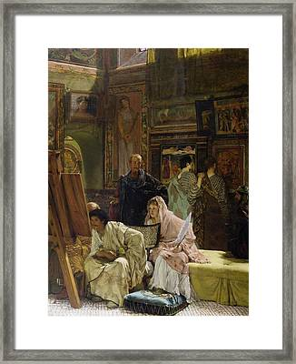The Picture Gallery Framed Print