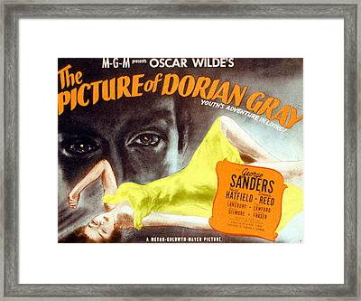 The Picture Of Dorian Gray, 1945 Framed Print