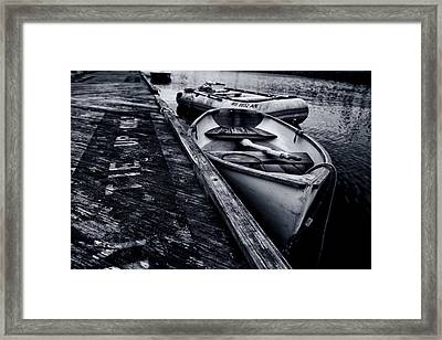 The Pier Framed Print by Andrew Kubica