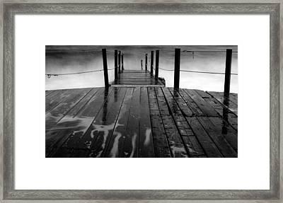 The Pier...protaras Framed Print