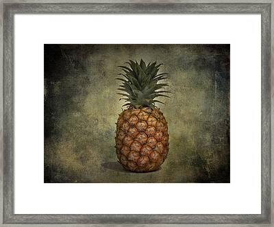 The Pineapple  Framed Print by Jerry Cordeiro