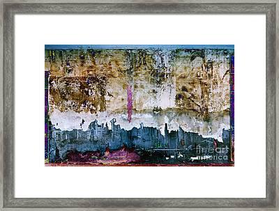 The Pink Gash A5 Framed Print by Warren Sarle