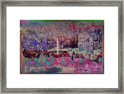 The Pink Gash D45 Framed Print by Warren Sarle