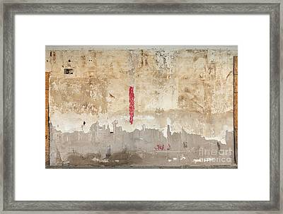 The Pink Gash Framed Print by Warren Sarle