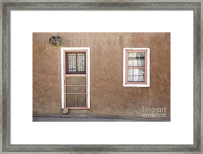 The Pinkertons Live Here Framed Print by Glennis Siverson