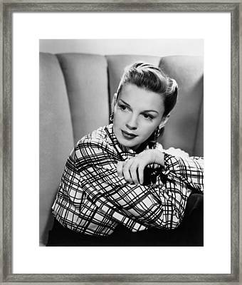 The Pirate, Judy Garland, 1948 Framed Print by Everett