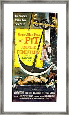 The Pit And The Pendulum,  Barbara Framed Print by Everett