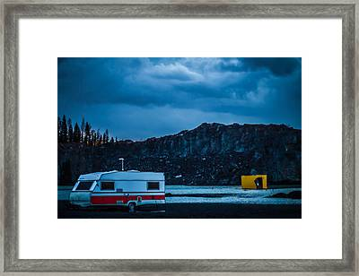 Framed Print featuring the photograph The Pit by Matti Ollikainen