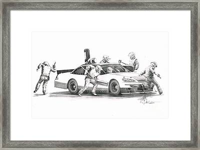 The Pitts  Framed Print by Murphy Elliott