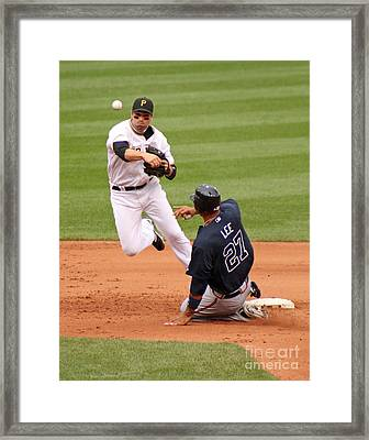 The Pivot Framed Print
