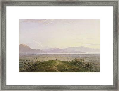 The Plains Of Marathon Framed Print by John Varley