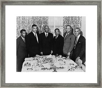 The Planners Of The 1963 March Framed Print