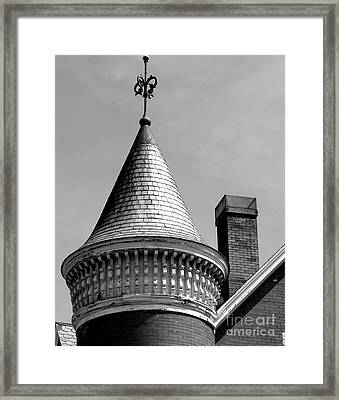 The Pointy End Up Framed Print by Michael Swanson
