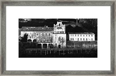 The Port Of Alcatraz Framed Print by Laszlo Rekasi