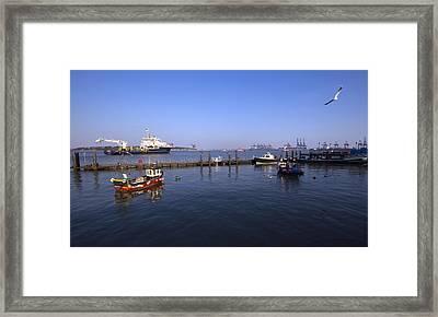 The Port Of Harwich Framed Print