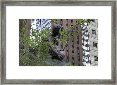 The Portland Building Framed Print by David Bearden