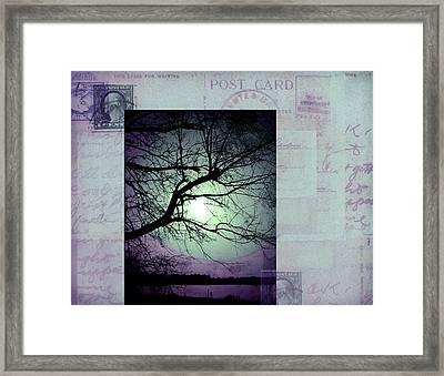 The Postcard IIi Framed Print by Ann Powell