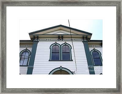 The Potter School House . Bodega Bay . Town Of Bodega . California . 7d12482 Framed Print by Wingsdomain Art and Photography