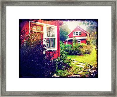 The Potting Shed Framed Print by Kevyn Bashore