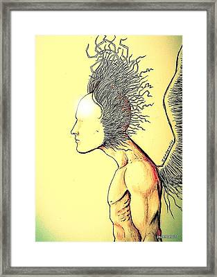 The Power Is Here And Now Framed Print