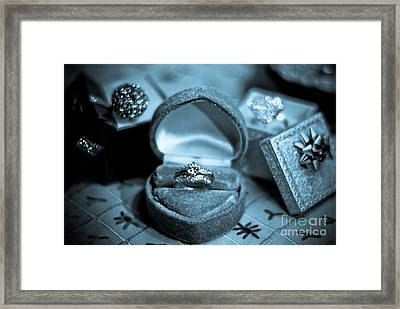 The Precious Moment Framed Print