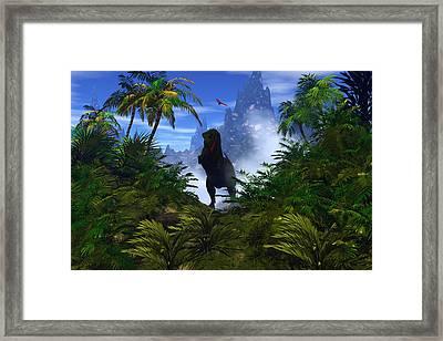 The Predator Framed Print by Claude McCoy