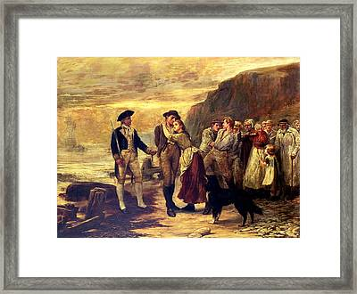 The Press Gang Framed Print by Robert Morley