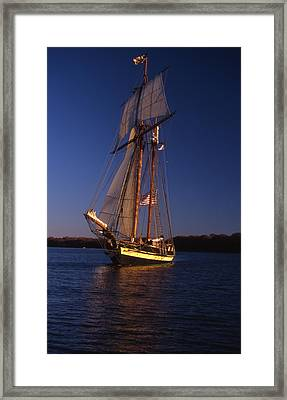 The Pride II Of Baltimore Framed Print by Skip Willits