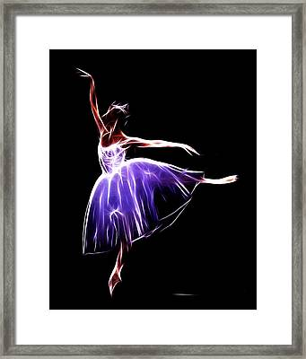 The Princess Dancer Framed Print