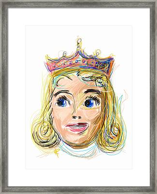 The Princess Framed Print by Russell Pierce