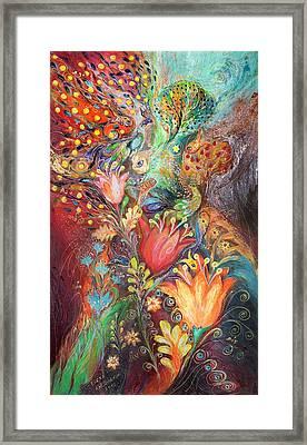 The Princesses Of Garden Framed Print by Elena Kotliarker