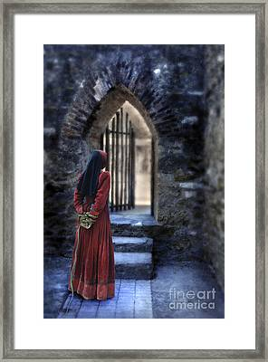 The Prisoner Framed Print by Jill Battaglia