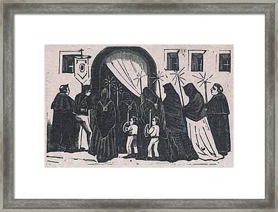 The Procession, By Antonio Vanegas Framed Print by Everett