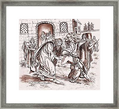 The Prodigal Son Framed Print by Norma Boeckler