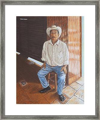 The Producer Framed Print by Jim Barber Hove