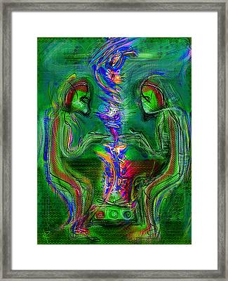 The Projector Framed Print