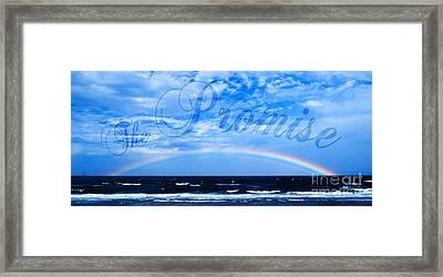 The Promise Framed Print by Linda Mesibov
