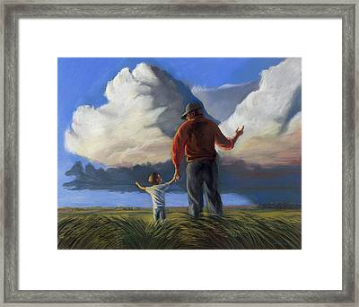 The Prophecy Framed Print by Christian Vandehaar
