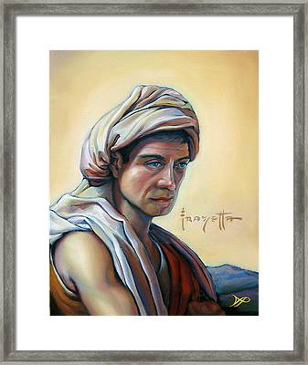 The Prophet Framed Print by Patrick Anthony Pierson
